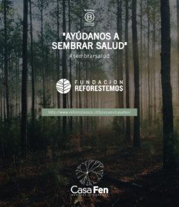 Alianza CasaFen – Reforestemos Patagonia - Afiche @estudio_praga