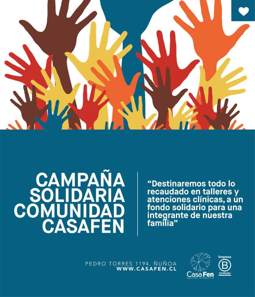 Campaña solidaria CasaFen .