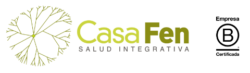 CasaFen logo + Bcorp color