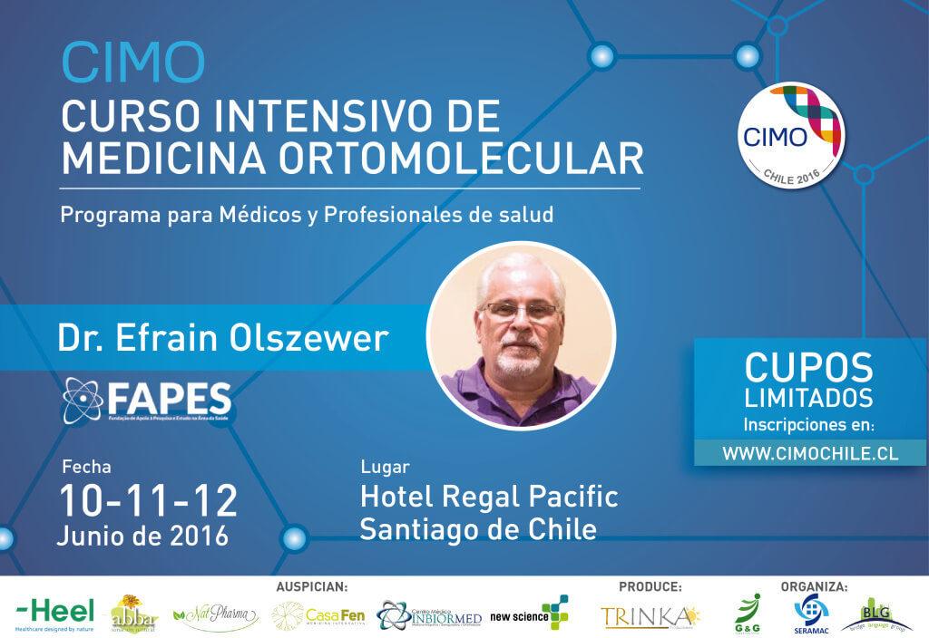 Curso Intensivo de Medicina ortomolecular CIMO 2016 CasaFen