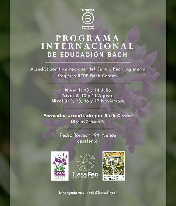 Programa Internacional de Educación Bach - Julio, Agosto y Noviembre en CasaFen