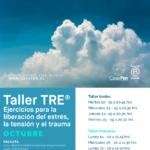 Taller TRE® ejercicios para la liberacion de la tension, el estres y el trauma octubre 2019 - CasaFen
