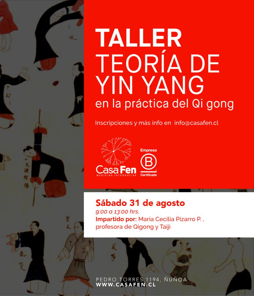 Taller Teoría del Yin Yang en la práctica de Qigong - CasaFen