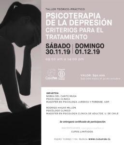 taller psicoterapia de la depresión - CasaFen nov2019