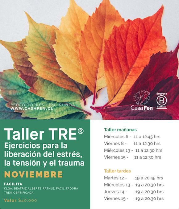 TRE noviembre - CasaFen