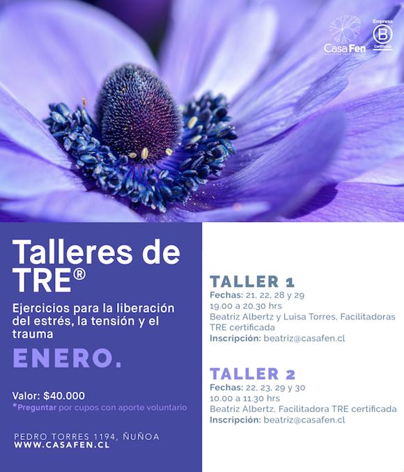 Taller TRE® ejercicios para la liberacion de la tension, el estres y el trauma - CasaFen