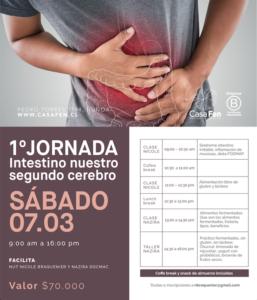 1ra Jornada Intestino, nuestro segundo cerebro - CasaFen