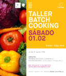 Taller batch cooking - casafen