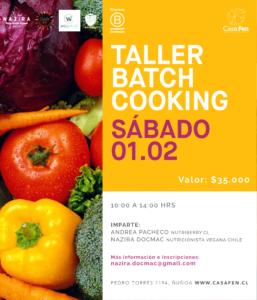 Taller batch cooking - casafen