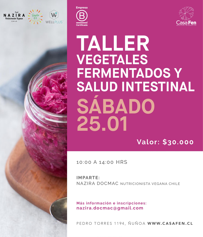 Taller vegetales fermentados y salud intestinal-casafen