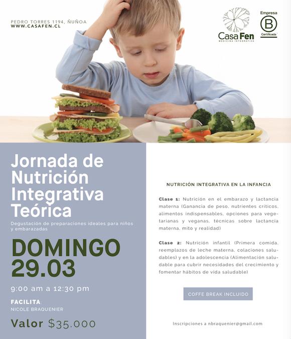 Nutrición integrativa en la infancia - casafen
