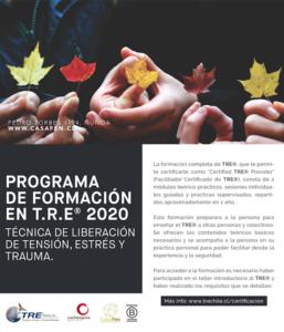 Programa de formacion en TRE 2020 - CasaFen