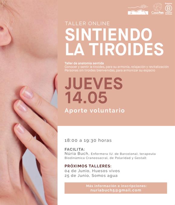 Sintiendo la tiroides - Taller online - CasaFen