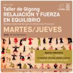 Taller de Qigong, relajación y fuerza en equilibrio
