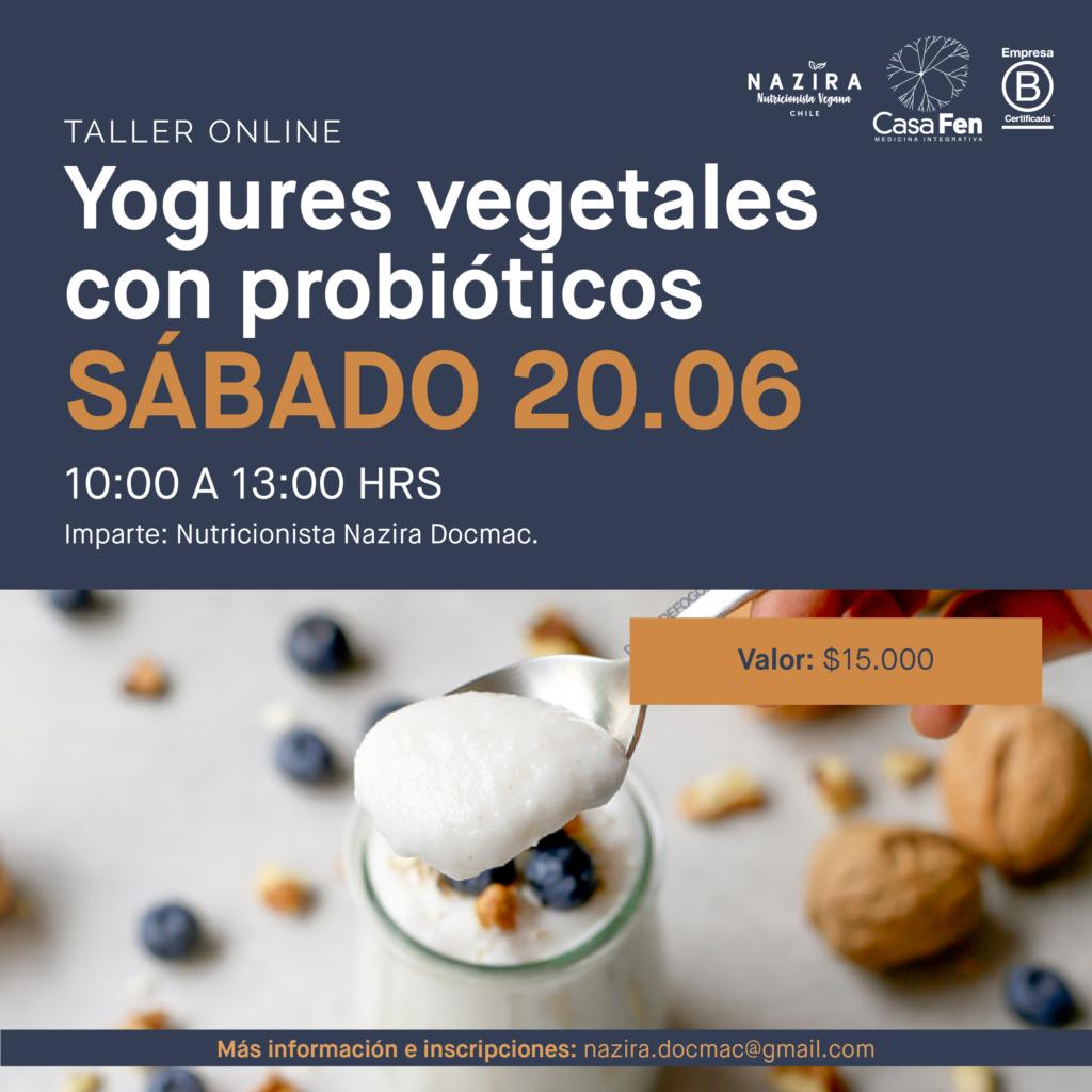 Taller yogures vegetales probióticos-CasaFen