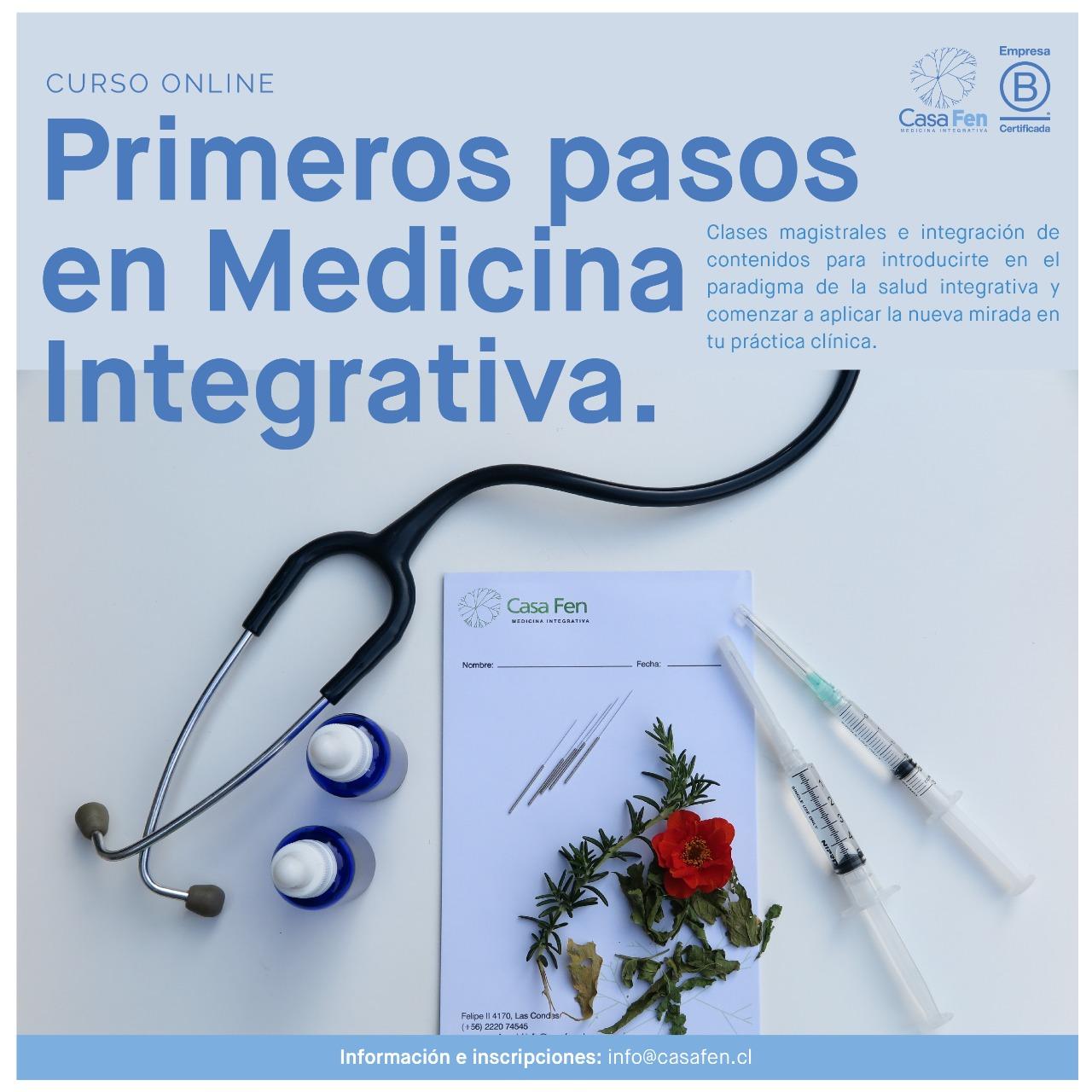 Curso online primeros pasos en medicina integrativa - CasaFen