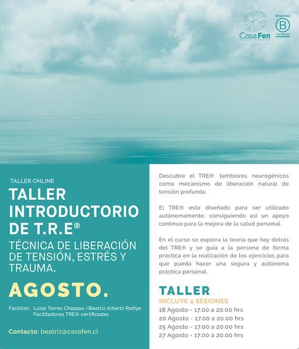 Taller TRE®-Ejercicios para la liberación de la tensión, el estrés y el trauma - CasaFen