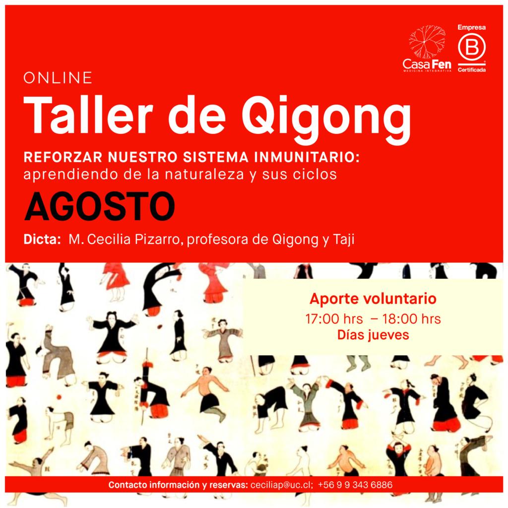 Taller de Qigong Agosto-Casafen