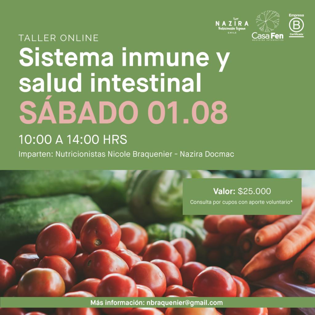 Taller sistema inmune y salud intestinal 5- CasaFen