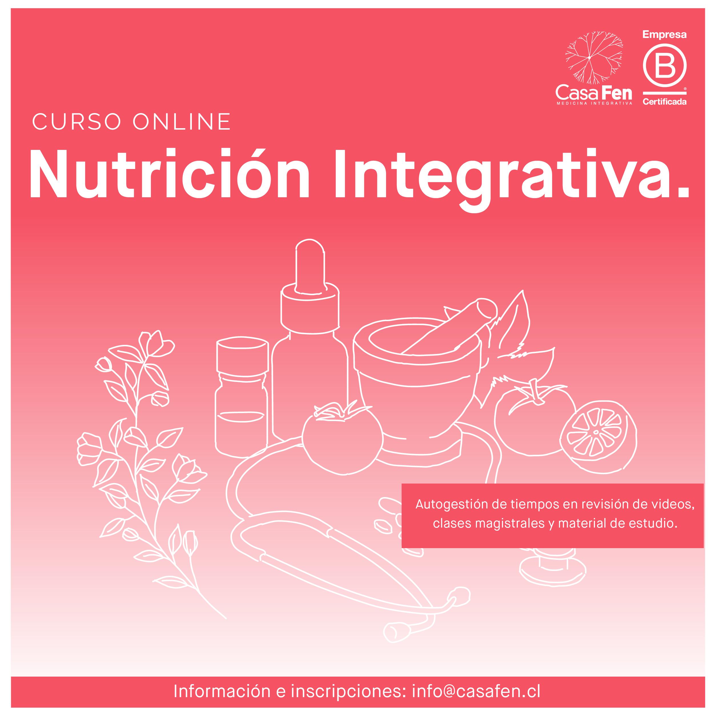 Curso online de nutrición integrativa - CasaFen