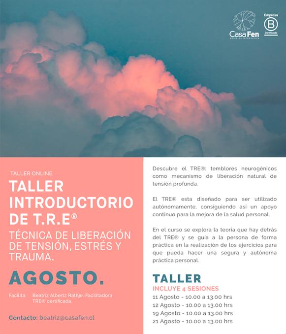 Taller TRE®-Ejercicios para liberación de tensión, estrés y trauma - CasaFen