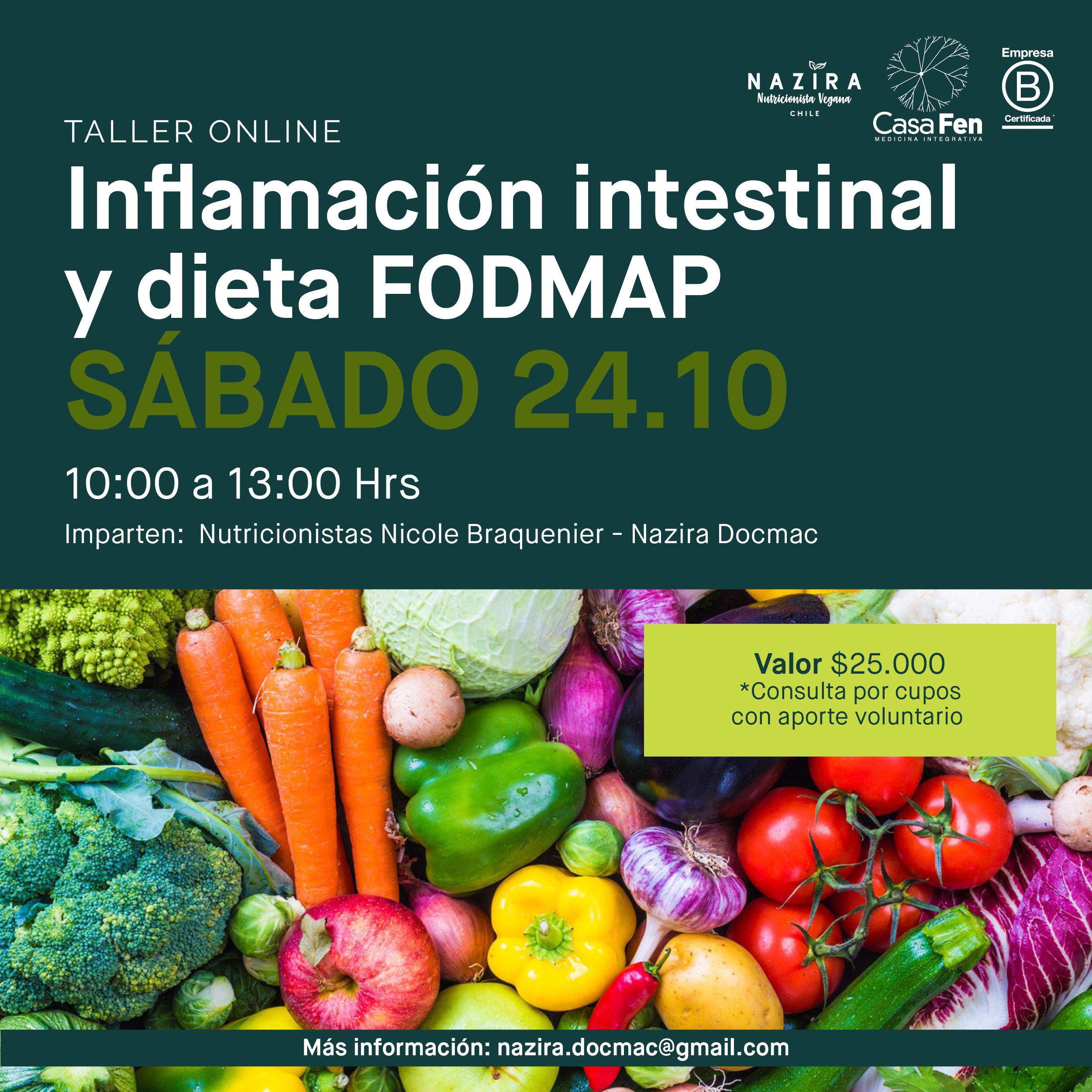 Inflamación intestinal y dieta FODMAP - CasaFen