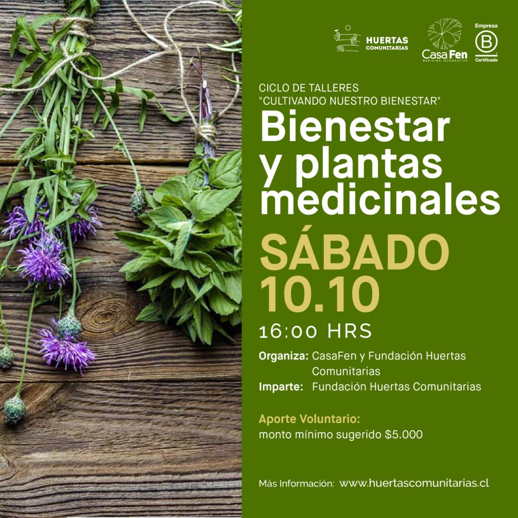 Taller de bienestar y plantas medicinales-CasaFen