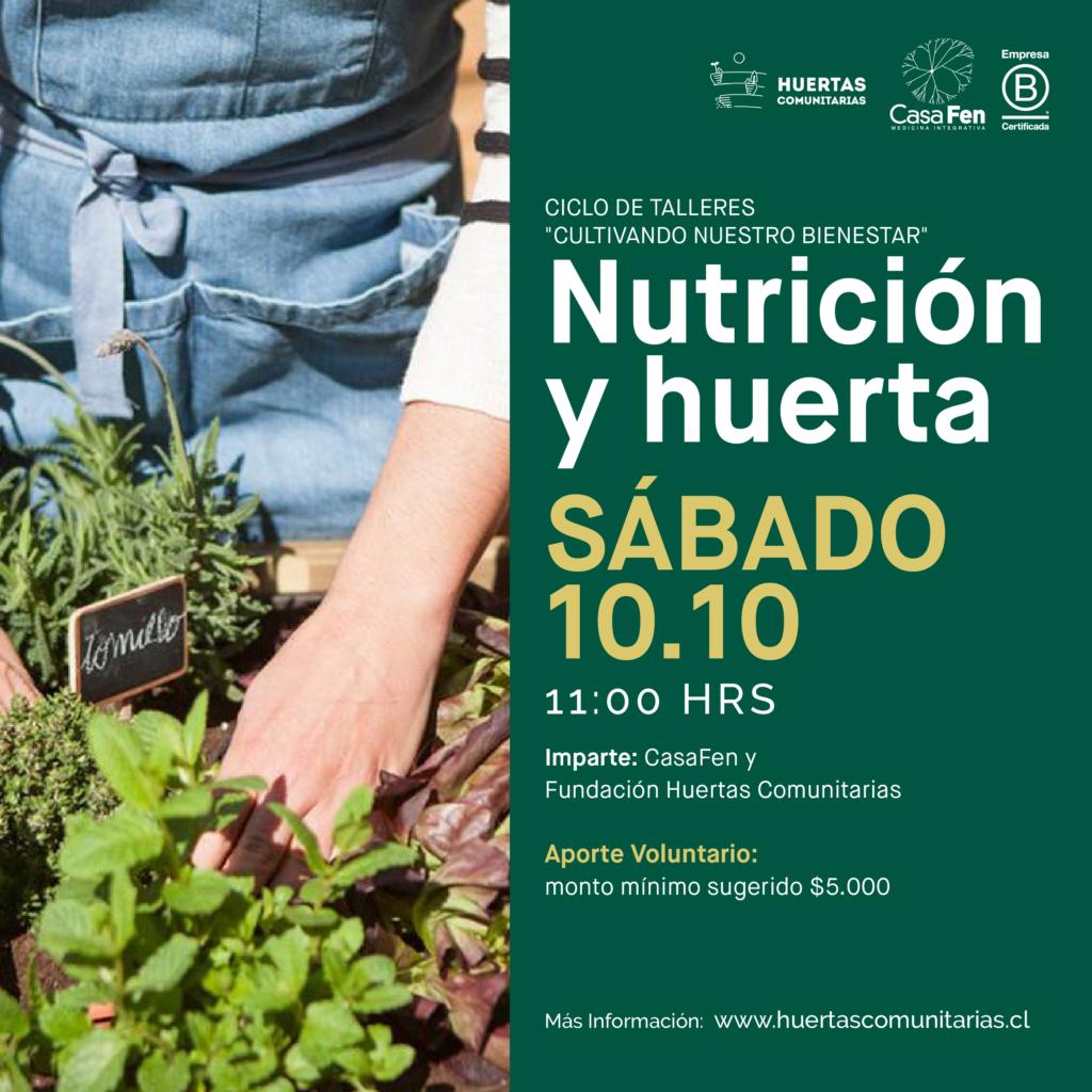 Taller de nutrición y huerta-CasaFen