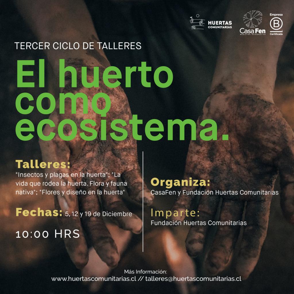 Taller El huerto como ecosistema-CasaFen