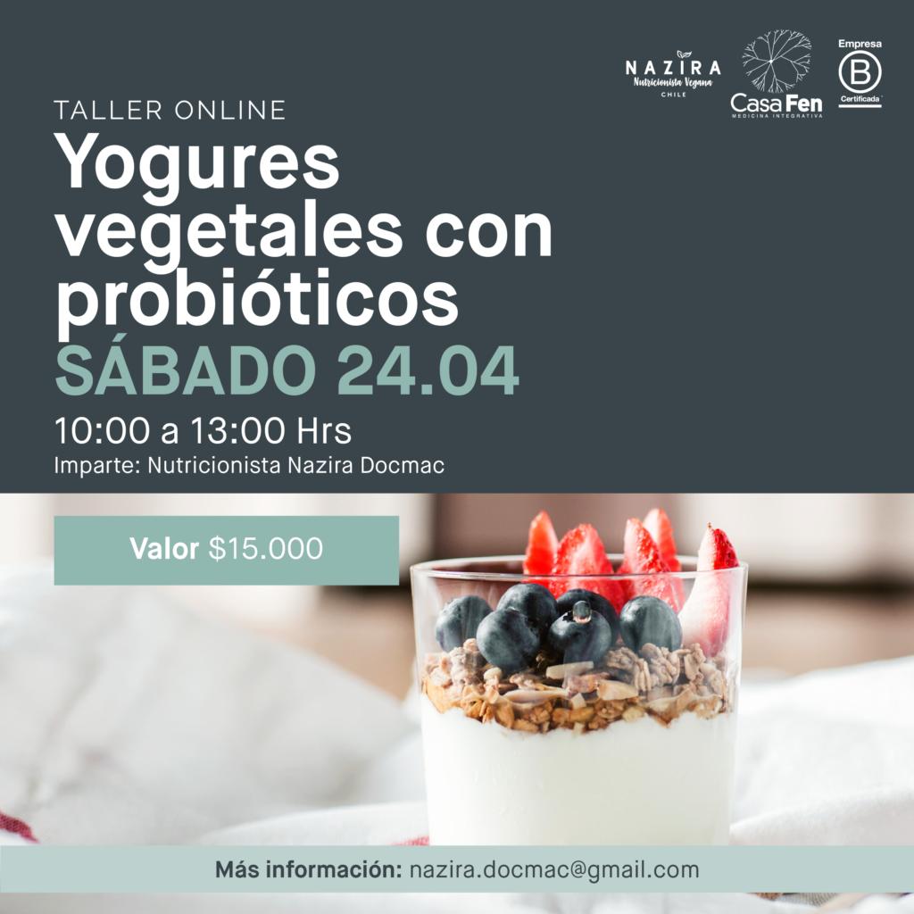 Taller yogures vegetales con probióticos-CasaFen