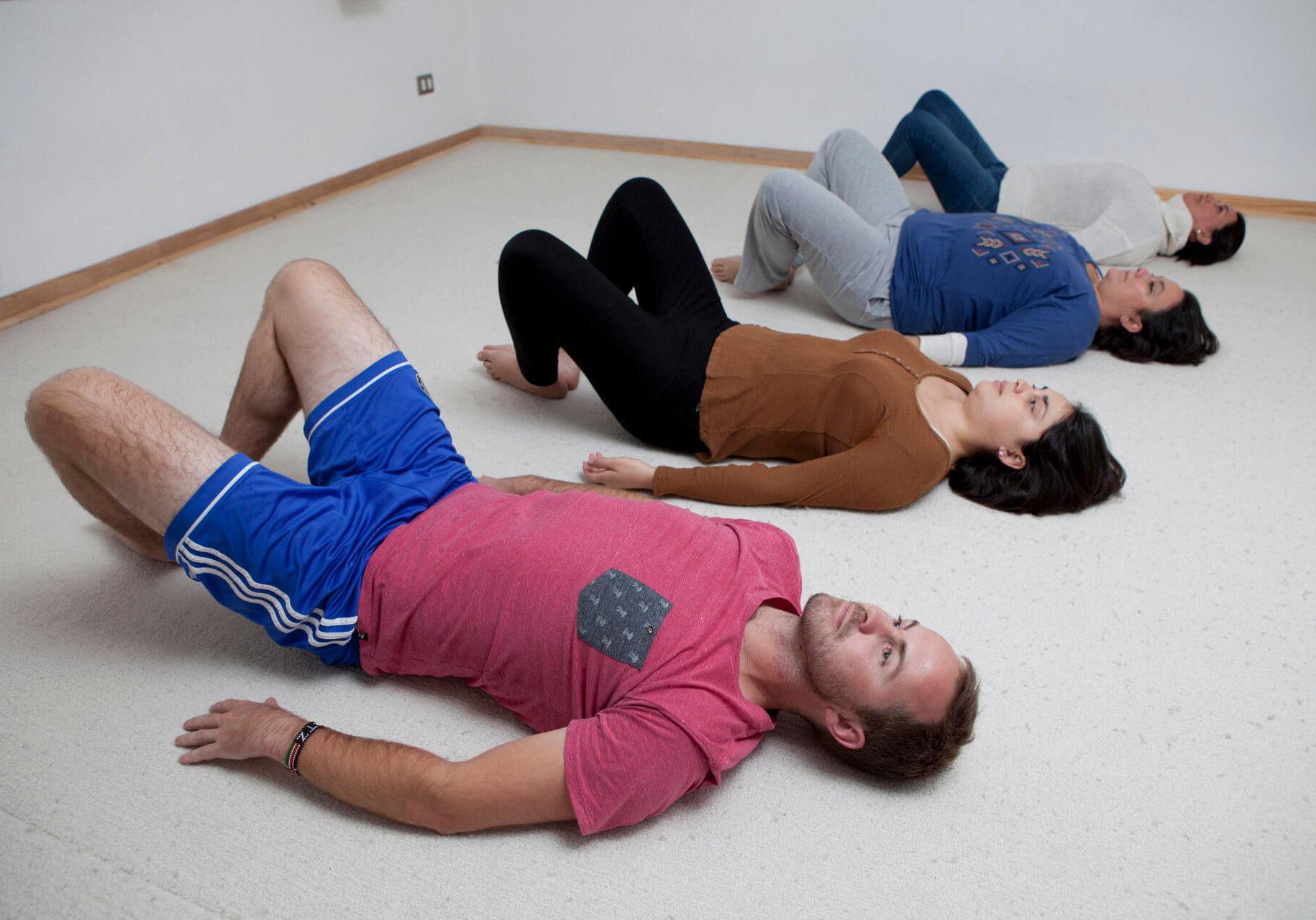 TRE® Ejercicios para la liberación de la tensión, el estres y el trauma CasaFen - foto Christian Demarco 1